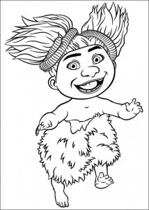coloring page Croods (16)