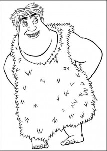 coloring page Croods (17)