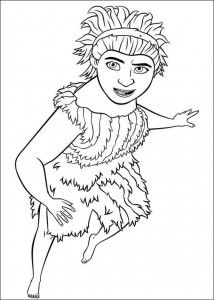 coloring page Croods (18)