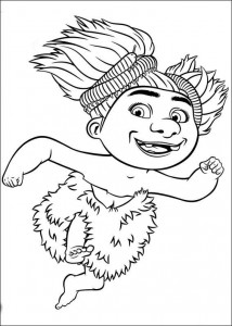 coloring page Croods (19)