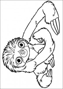 coloring page Croods (3)