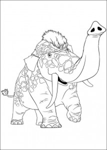 coloring page Croods (6)