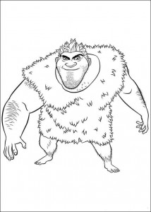 coloring page Croods (8)