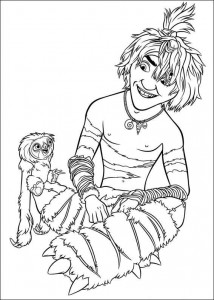 coloring page Croods (9)