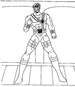 coloring page Cyclope (1)