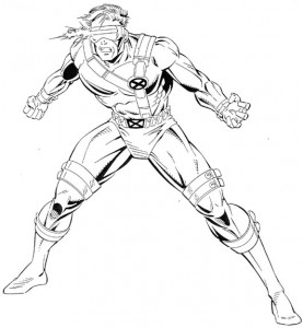 coloring page Cyclope (3)