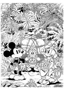 coloring page Dagobert Duck (21)