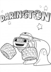 coloring page darington