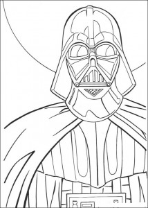Disegno da colorare Darth Vader (3)