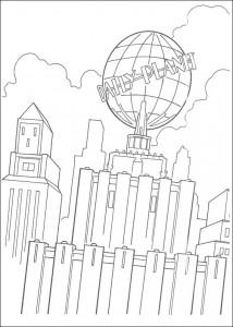 kleurplaat De Daily Planet (1)