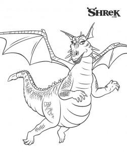 Coloriage Le Dragon (1)