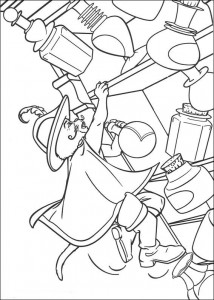 coloring page The Puss in Boots (1)