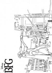 coloring page Den store vennlige giganten GVR (1)