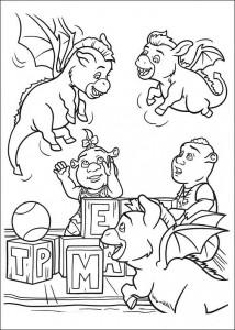 Dibujo para colorear Los niños (1)