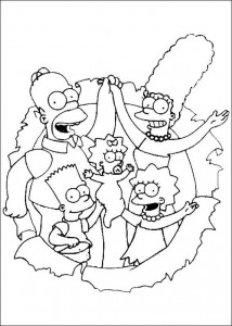 coloring page The Simpsons (10)