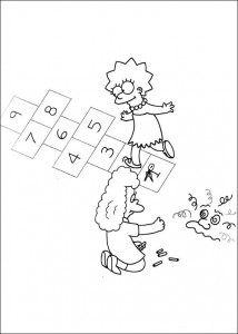 coloring page The Simpsons (12)