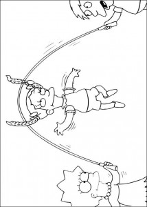 coloring page The Simpsons (13)