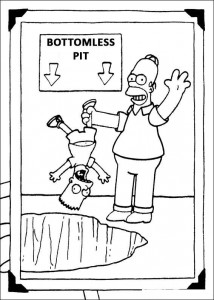 coloring page The Simpsons (8)