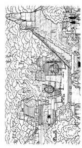 målarbok Tikal stad, Mexiko