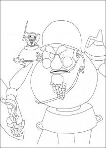 coloring page Despereaux (16)