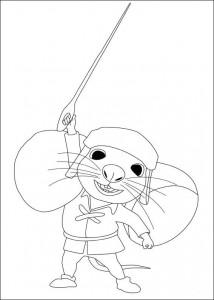 Malvorlage Despereaux (18)
