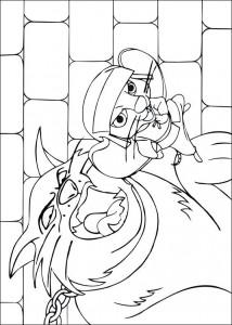 coloring page Despereaux (5)