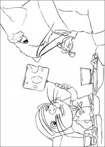 coloring page Despereaux (6)