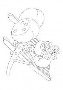 coloring page Diddlina (1)