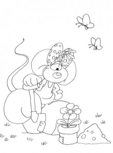coloring page Diddlina (15)