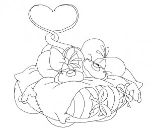 coloring page Diddlina (2)