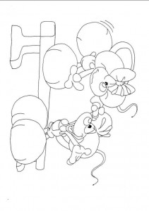 coloring page Diddlina (34)