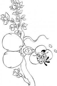 coloring page Diddlina (7)