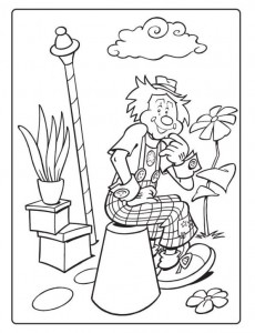 coloring page Dobus