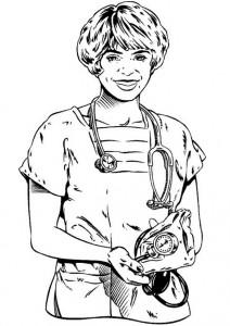 målarbok Läkare (1)