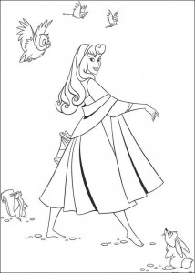 coloring page Sleeping Beauty (1)