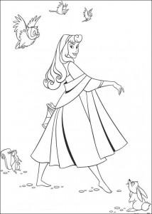 målarbok Sleeping Beauty (1)