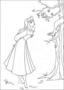 coloring page Sleeping Beauty (4)