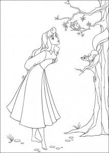målarbok Sleeping Beauty (4)
