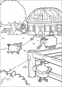coloring page Dora the Explorer 2 (10)