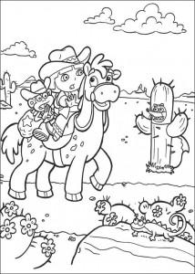 kleurplaat Dora de Verkenner 2 (17)