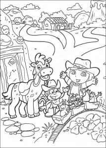 coloring page Dora the Explorer 2 (20)