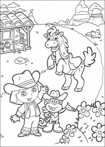 coloring page Dora the Explorer 2 (5)