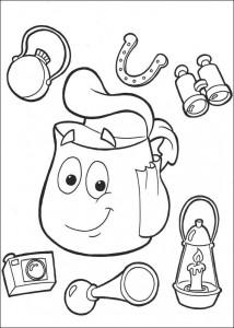 kleurplaat Dora de Verkenner 2 (6)