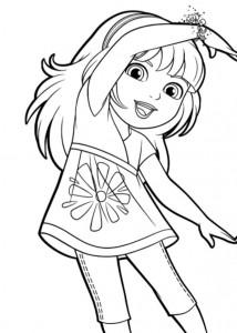 coloring page Dora