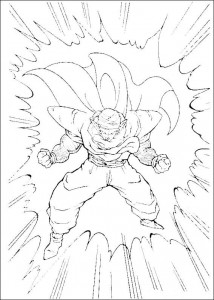 Dibujo para colorear Dragon Ball Z (21)