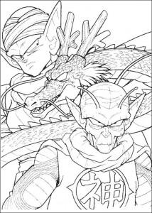 målarbok Dragon Ball Z (22)