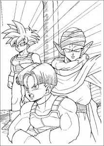 målarbok Dragon Ball Z (24)