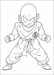 målarbok Dragon Ball Z (26)