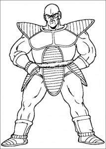 målarbok Dragon Ball Z (30)