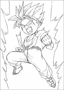 Dibujo para colorear Dragon Ball Z (31)